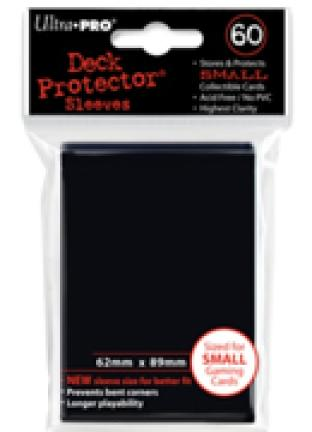 Ultra Pro - 60 ct Sleeves - Black - Yugioh Sized