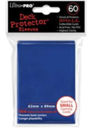 Ultra Pro - 60 ct Sleeves - Blue - Yugioh Sized