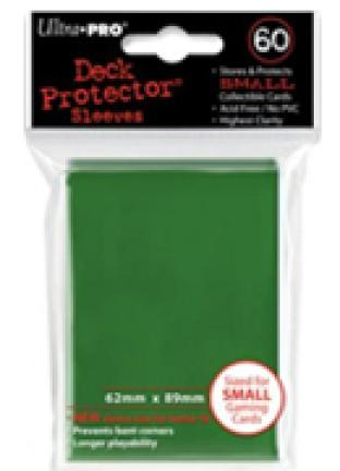 Ultra Pro - 60 ct Sleeves - Green - Yugioh Sized
