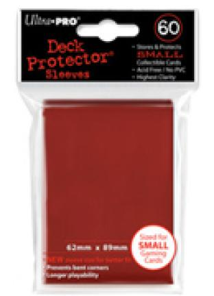Ultra Pro - 60 ct Sleeves - Red - Yugioh Sized