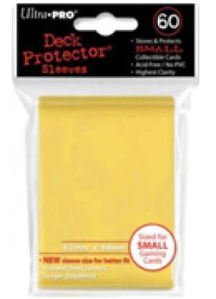 Ultra Pro - 60 ct Sleeves - Yellow - Yugioh Sized