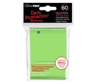 Ultra Pro - 60 ct Sleeves - Lime Green - Yugioh Sized