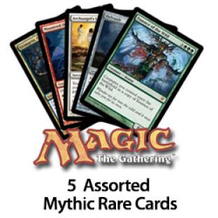 5 Assorted Mythic Rares Cards