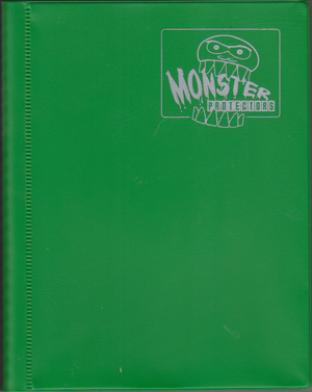 4-Pocket Monster Binder - Herald Green
