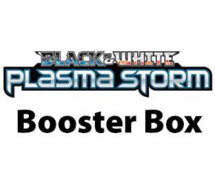 Black White - Plasma Storm Booster Box