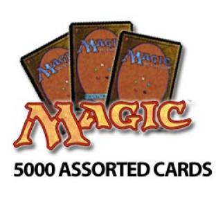 Magic the Gathering - 5000 Assorted Cards - Grab Bag