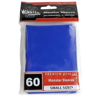 Monster Small Sized Sleeves 60ct - Blue