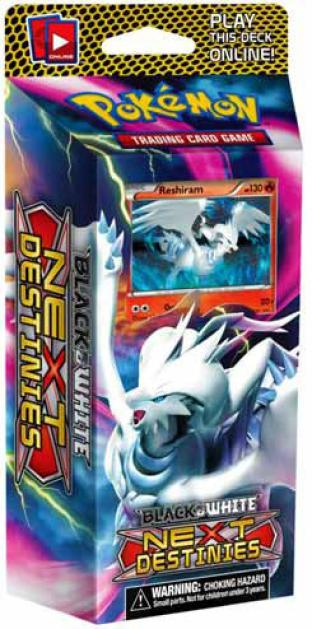 Black and White Next Destinies - Explosive Edge Deck with Reshiram