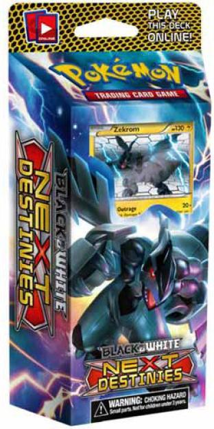 Black and White Next Destinies - Voltage Vortex Deck with Zekrom