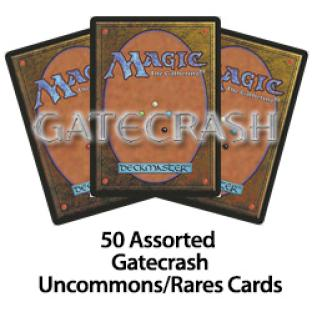 50 Assorted Gatecrash Uncommons/Rares Cards
