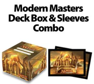 Ultra Pro Modern Master Deck Box & Sleeves Combo