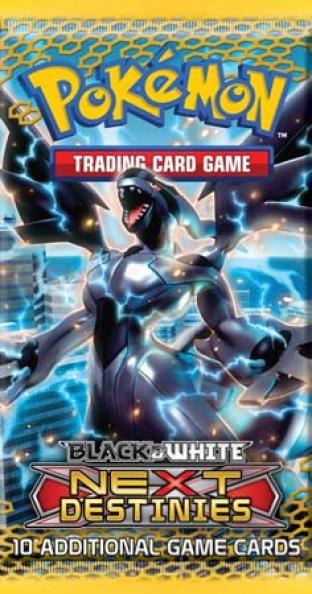 Black and White Next Destinies Booster Pack