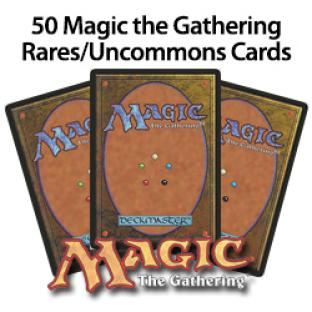 50 Magic the Gathering Rares/Uncommons Grab bag