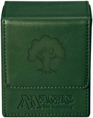 Magic Mana Flip Box - Green Mana - Ultra Pro