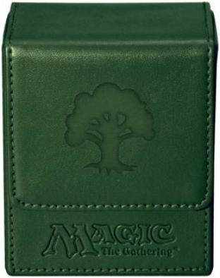Magic Mana Flip Box - Green Mana - Ultra Pro
