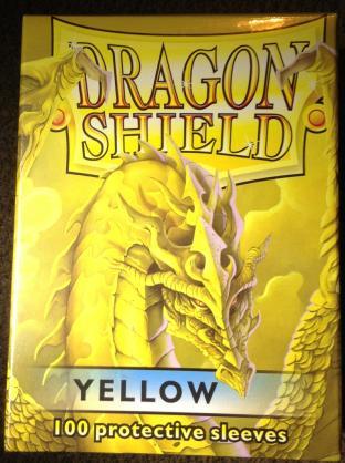 Dragon Shield Box of 100 in Yellow