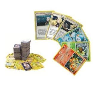 100 Assorted Pokemon Cards with Bonus 6 Free Promo Foils