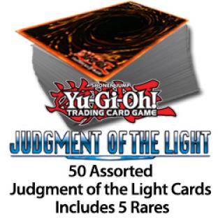 50 Assorted Judgment of the Light Cards Includes 5 Silver Letter Rares