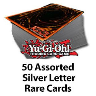 Yugioh 50 Assorted Silver Letter Rares