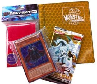 Yugioh Holiday Gift Pack (2-Pocket Binder, 1 Booster, 50 Cards, 50 Sleeves)