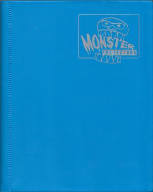 4-Pocket Monster Binder - Arctic Blue