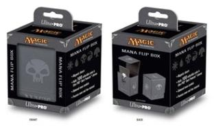 Ultra Pro Magic the Gathering: Mana Magnetic Flip Box (Deck Box / 861122) Grey