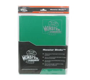 9 Pocket Monster Binder - Forest Green
