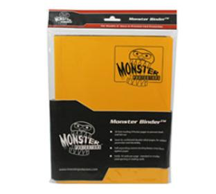 9 Pocket Monster Binder - Sunflower Yellow