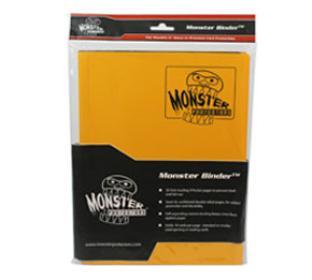9 Pocket Monster Binder - Sunflower Yellow