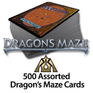 500 Assorted Dragon's Maze Cards
