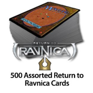 500 Assorted Return to Ravnica Cards