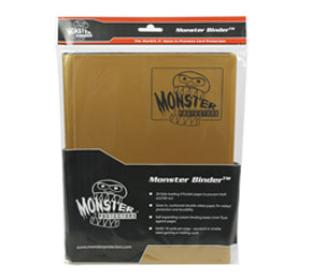 9 Pocket Monster Binder - Matte Gold