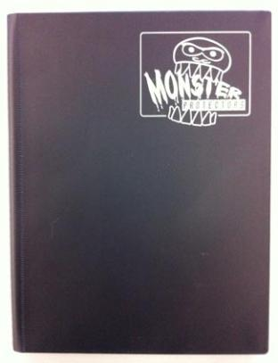 Monster Binder - Matte Black - 9 Pocket