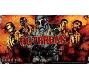 Resident Evil Outbreak Playmat