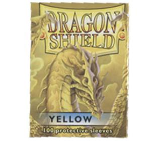 Dragon Shield Yellow Standard Sized Sleeves 100