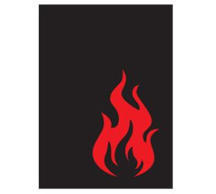 Legion Iconic Standard Sized Sleeves 50 ct - Fire
