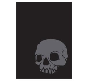 Legion Iconic Standard Sized Sleeves 50 ct - Skull