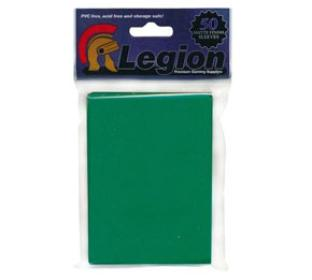 Legion Matte Green Standard Sized Sleeves 50 ct