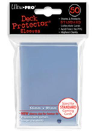 Ultra Pro - Clear - Pack of 50 Sleeves - Standard Size