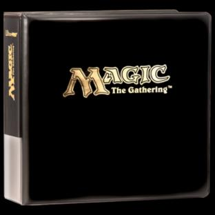 Ultra Pro - Magic the Gathering Gold Foil Stamp 3-Ring Binder - 3in