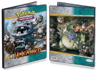 Ultra Pro 9 Pocket Album - HS Unleashed - Steelix and Tyranitar