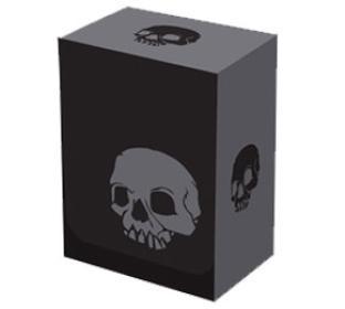 Legion Iconic Deck Box - Skull (BLACK)