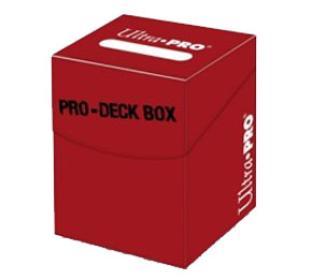 Ultra Pro - Pro-100 plus Deck Box Red w/ Divider