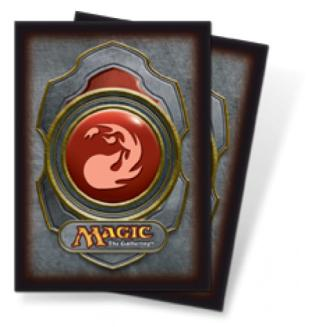 Ultra Pro - Mana Symbol Card Sleeves - Red Mana (80 Count)