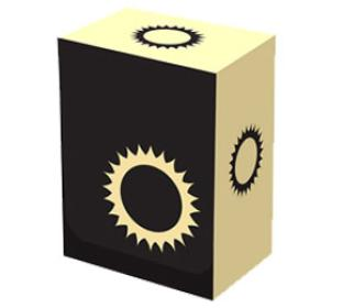 Legion Iconic Deck Box - Sun (WHITE)