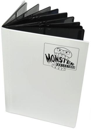 4-Pocket Monster Binder - Matte White
