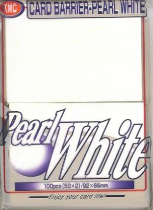 Japanese KMC Pack of 100 in Pearl White