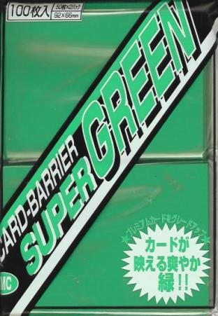 Japanese KMC Pack of 100 in Super Green