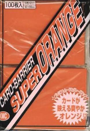 Japanese KMC Pack of 100 in Super Orange