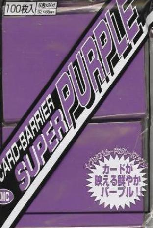 Japanese KMC Pack of 100 in Super Purple